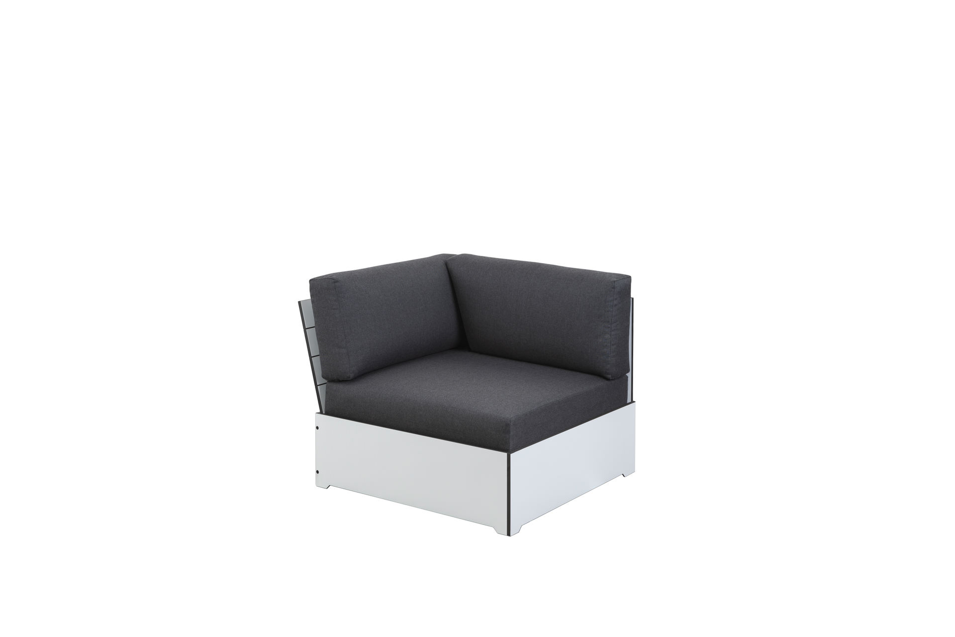 Eckmodul Lounge Daybed HPL