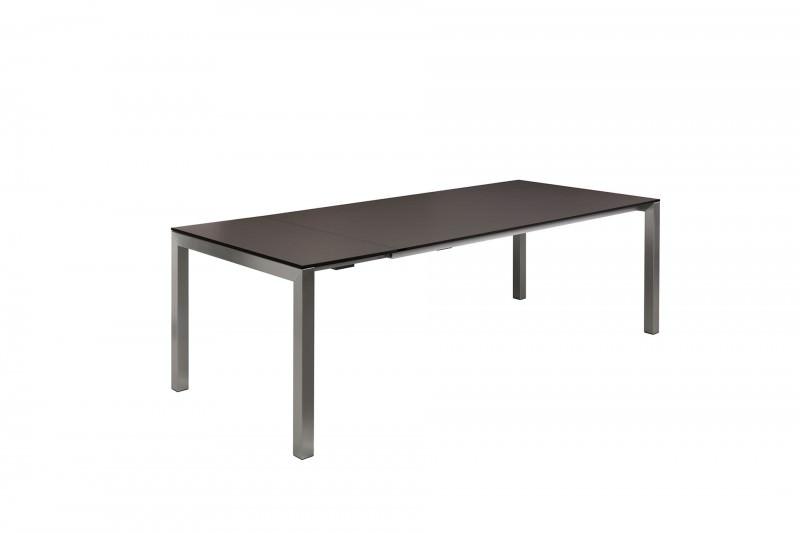 Gartentisch mit Einlegeplatte