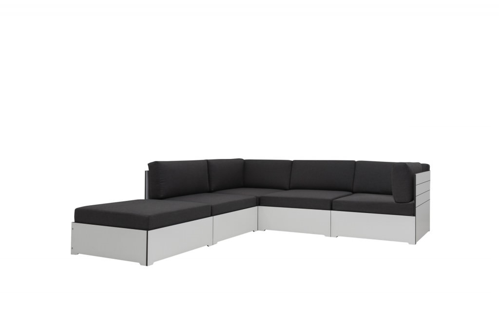lounge hpl in wei oder anthrazit komplett mit. Black Bedroom Furniture Sets. Home Design Ideas
