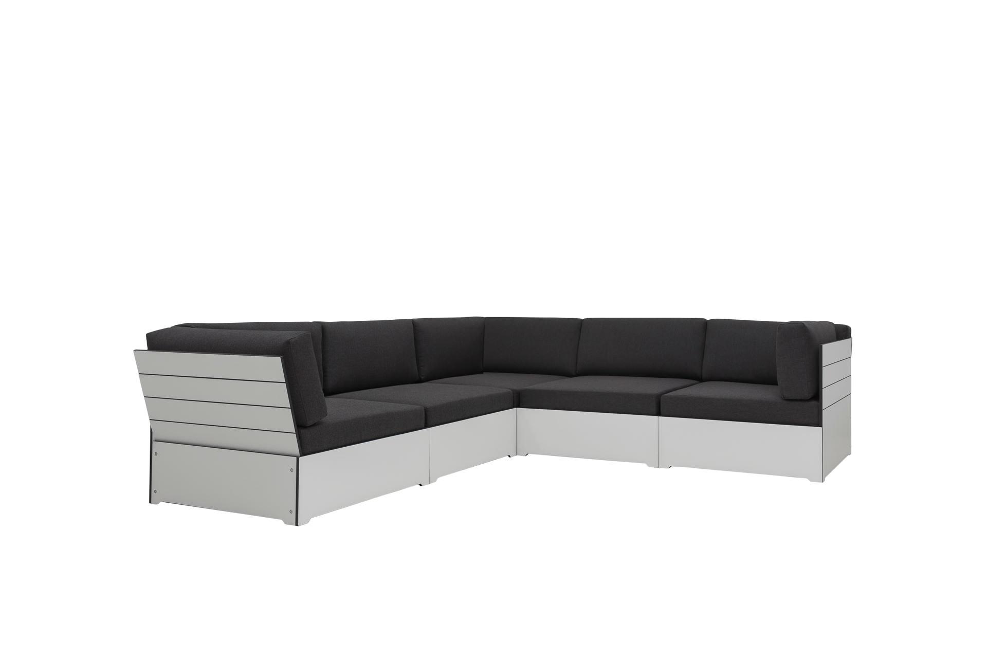 Lounge Daybed HPL selbst zusammenstellen